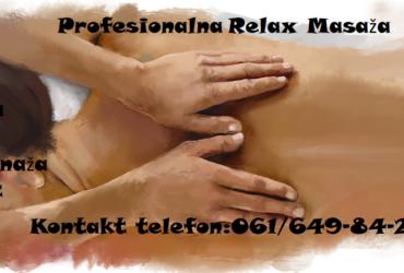 Profesionalna Relax Masaža
