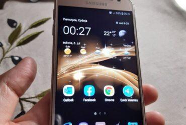 Samsung J3 2017 Gold, full oprema