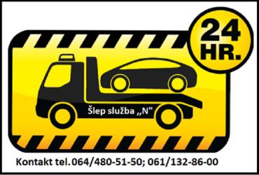 Slep sluzba – od 00-24h. – Beograd