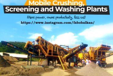 FABO postrojenje za drobilice i separacije / betonske baze