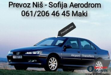 Prevoz Transport putnika Niš Sofija Airport Transfers