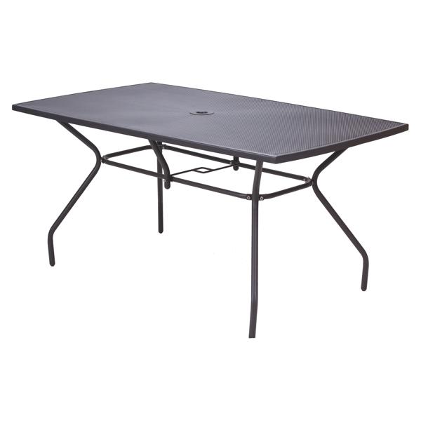 Baštenski Metalni sto Melfi 150x90x74 cm NOVO 2021