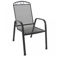 Melfi metalna stolica siva NOVO 2021