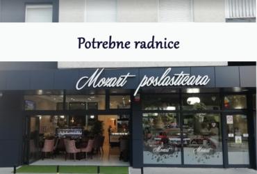 Caffe poslastičari Mozart u Nišu potrebne radnice