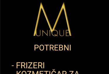 Frizersko kozmetičkom salonu Unique M potrebni radnici