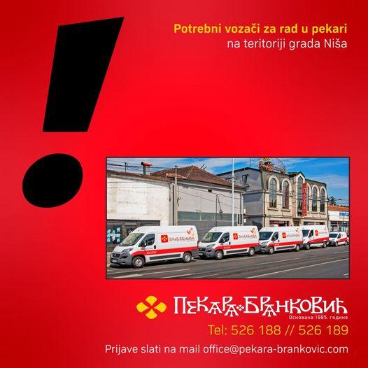 Pekari Branković potrebni vozači