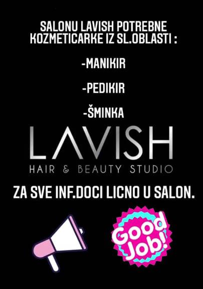 Kozmetičkom salonu Lavish potrebne kozmetičarke