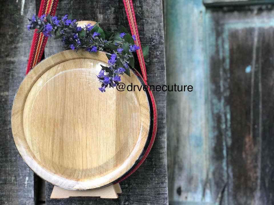 Drvene hrastove ČUTURE sa gravurom