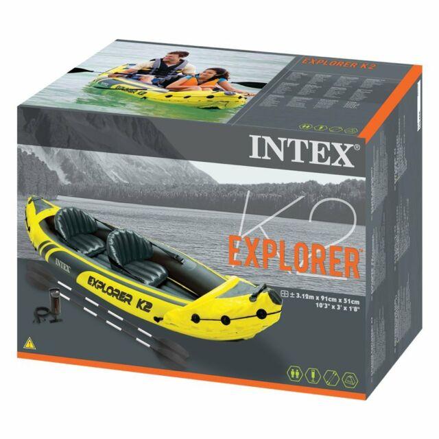 Intex Explorer K2 Kajak dvosed Novo Akcija!