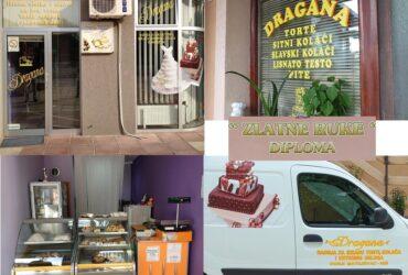 """Radnji Torte i kolači """"Dragana"""" potrebni radnici"""