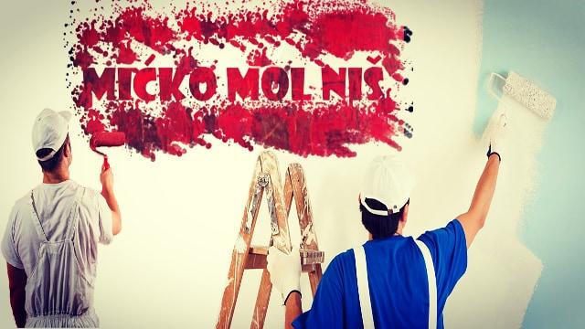 Vršimo Molersko-fasaderske i farbarske radove