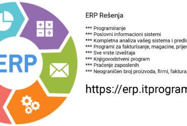Programerske usluge, izrada sajtova, poslovnih programa, erp resenja