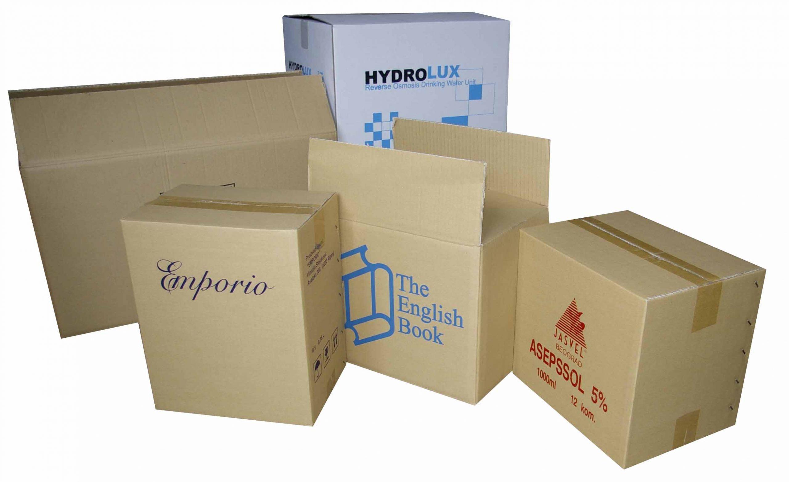 Prodaja kartonskih ambalaza i papirne galanterije