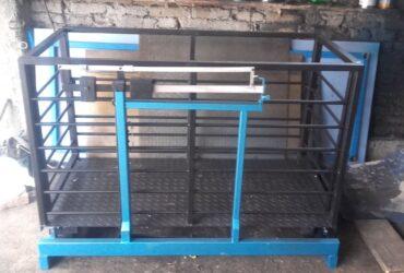 Stočna vaga 500 kg sa ogradom 1,5m x 0,75m