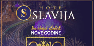 Hotel Slavija. Doček 2019.