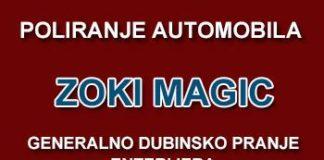 """Servis za poliranje vozila """"Zoki Magic"""""""
