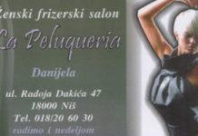 """Ženski frizerski salon """"La Peluqueria"""""""