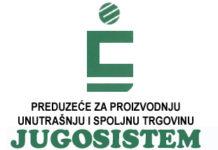 """Stovarište gradjevinskog materijala """"Jugosistem"""""""