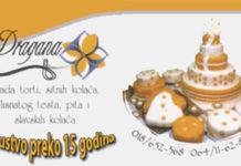 "Torte i kolači ""Dragana"" Matejevac"