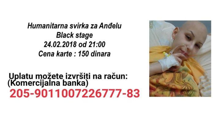 Humanitarni koncert: Muzičari iz Niša i Jagodine za Anđelu Vrbić