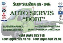 "Auto servis - šlep služba ""Bobi"""