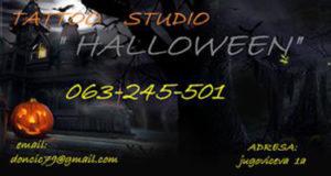 "Tattoo art studio ""Halloween"" - Niš"