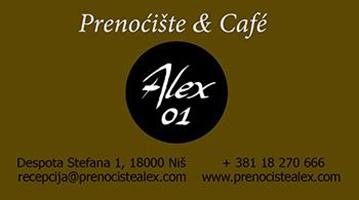 """Prenoćište-caffe """"Alex"""""""