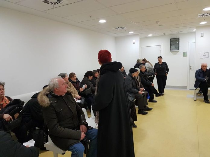 Čekaonica spec. ambulante kardiologije; Foto: KC Niš