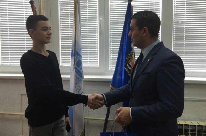 Prijem u GO Medijana za Nikolu Đorđevića
