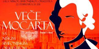 Veče Mocarta, Niški simfonijski orkestar
