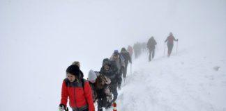 Zimski uspon na Trem; Foto: PK Železničar Niš