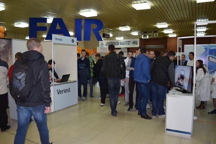 Job Fair 2018, Sajam poslova i stručnih praksi u Nišu