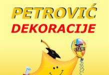 """Dekoracije veselja """"Petrović dekoracije"""""""