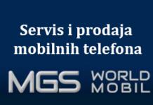 "Servis i prodaja mobilnih telefona ""MGS World Mobil"""