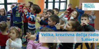 Kreativna radionica u Dečijem centru