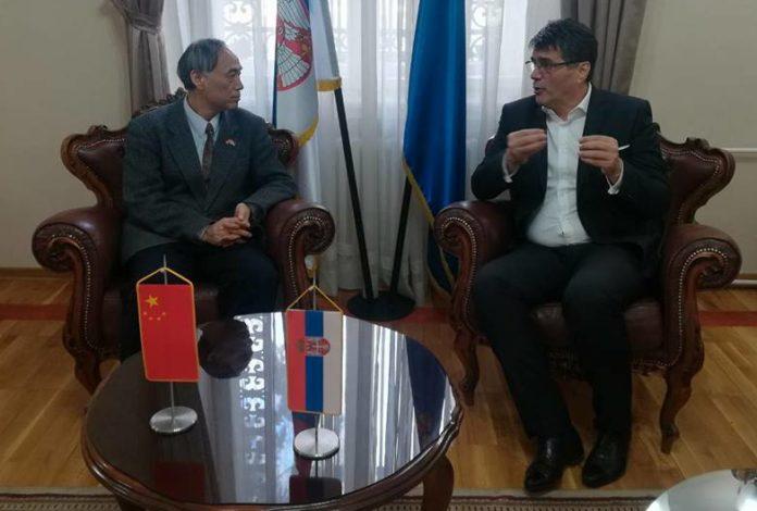 Kineski ambasador u poseti Nišu