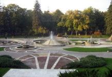 Fontana u centru Niške Banje: Foto: GO Niška Banja