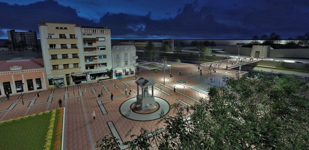 Trg kralja Milana; Foto: Zavod za urbanizam