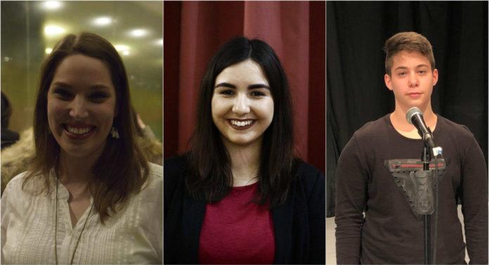 Pobednici Frankofone pesme: Natalija, Irina i Aleksa