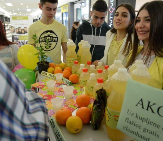 Probajte proizvode učeničkih kompanija u Nišu