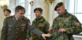 Izmene u obeležavanju uniformi i predlozi za nove odevne predmeta