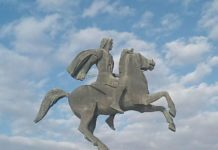 Spomenik Aleksandrom Makedonskom u Solunu