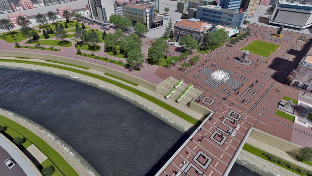 Pešačka zona kod Tvrđave; Foto: Zavod za urbanizam