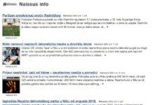 Naissus.Info od sada u rangu sa najboljim informativnim sajtovima Srbije