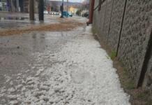 Grad, ledena kiša Niš, Foto Naissus Info