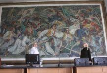 """""""Čegarski boj"""" poznatog jugoslovenskog slikara Bože Ilića; Foto: Vesna Petrović"""