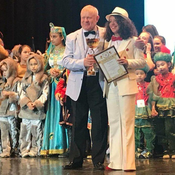 """Nišlijka Una Dimitrijević osvojila je Grand prix u Moskvi na međunarodnom muzičkom festivalu """" Open Europe- open planet"""""""