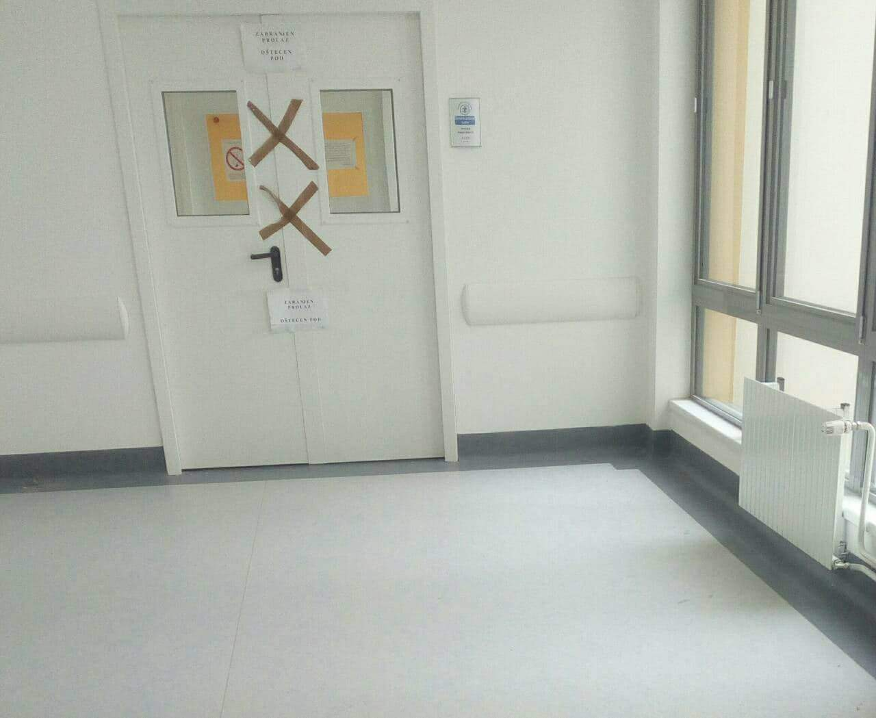Instalacije ne podržavaju opremu; Zatvorena i operaciona sala na prvom spratu novog KC Niš
