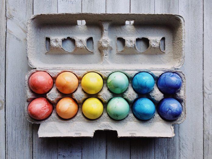 kada se farbaju jaja