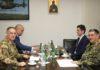 Sastanak na niškom vojnom aerodromu; Foto: Ministarstvo odbrane